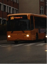 5 timer etter var vi alle ankommet Danmark.  Uten tvil på rett vei!