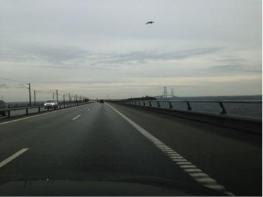 Storebælt broen.